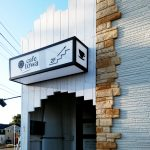 カフェ towa アクリル 看板 カフェ towa ボード サイン おしゃれ かわいい 看板 喫茶店 デザイン ハワイアンカフェ
