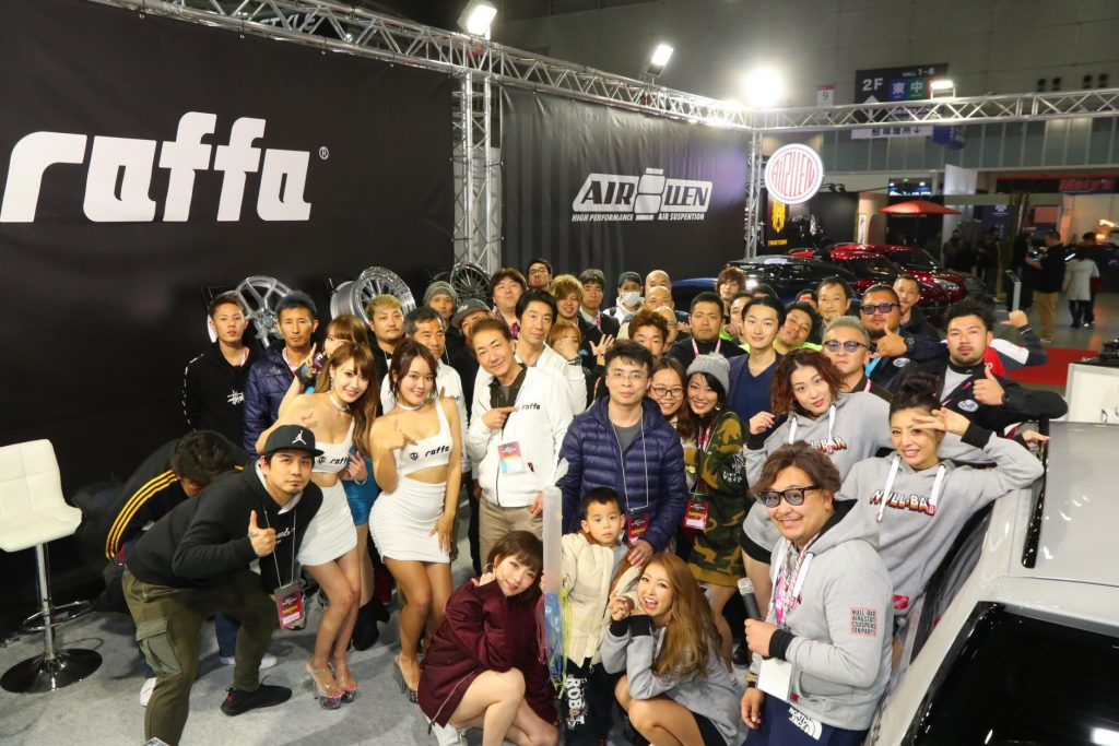 ジェットストローク 東京オートサロン2020 ラバーディップ イベントブース ブースサイン タペストリー 横断幕